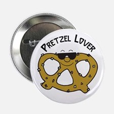 "Pretzel Lover 2.25"" Button"