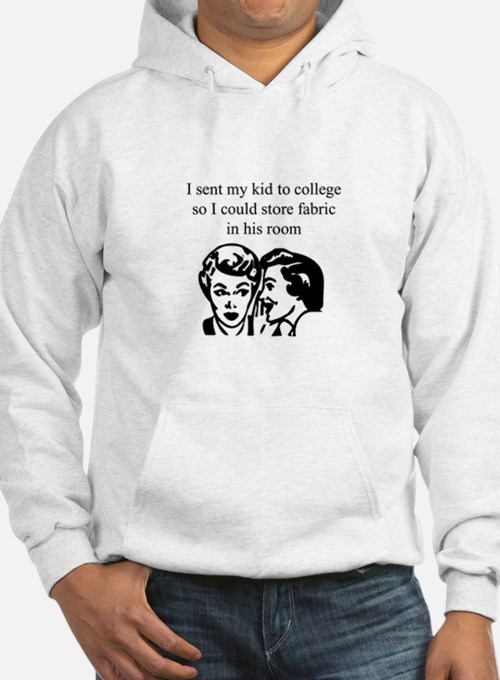 Fabric - Sent Son to College Hoodie