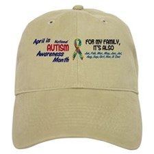 Autism Awareness Month 2 Baseball Cap