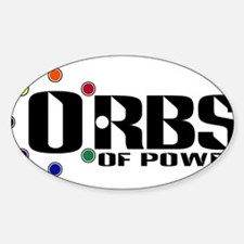 Orbs of Power Oval Decal