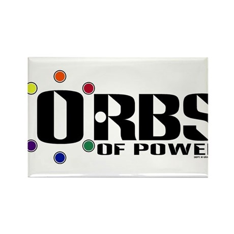 Orbs of Power Rectangle Magnet