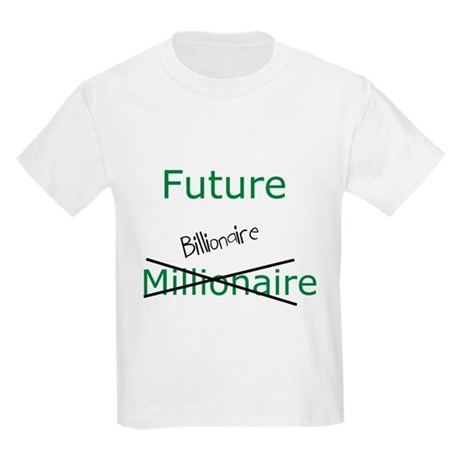 Future Billionaire Kids Light T-Shirt