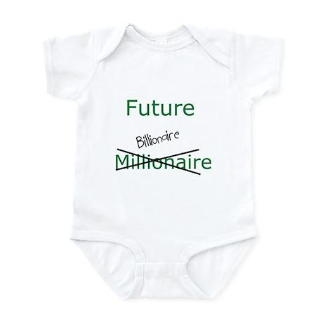 Future Billionaire Infant Bodysuit