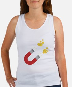 Like a magnet for money Ck64m Tank Top