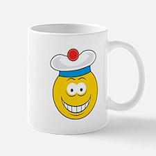 Golfer/Golfing Smiley Face Mug