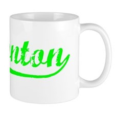 Vintage Edmonton (Green) Small Mugs