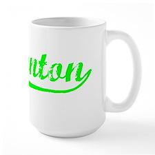 Vintage Edmonton (Green) Ceramic Mugs