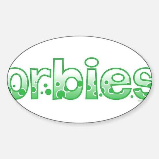 Orbies Oval Decal