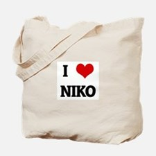 I Love NIKO Tote Bag
