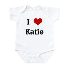 I Love Katie Infant Bodysuit