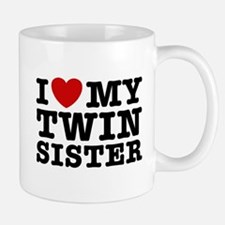 I Love My Twin Sister Mug