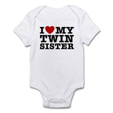 I Love My Twin Sister Onesie
