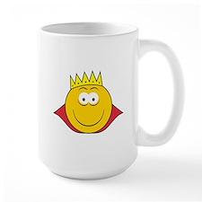 King Smiley Face Mug