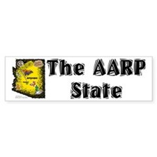 AZ-AARP! Bumper Bumper Sticker