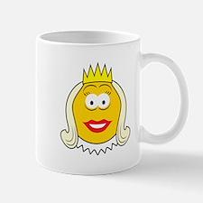 Queen Smiley Face Mug