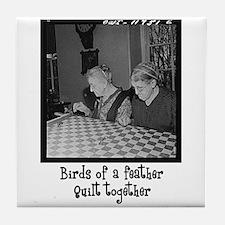 Quilt Together Tile Coaster