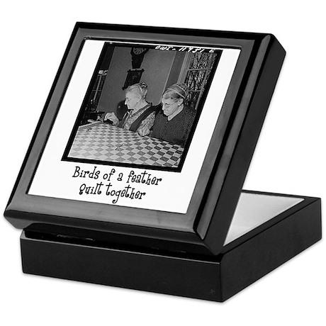 Quilt Together Keepsake Box