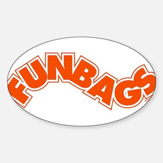 Fun Bags Oval Decal