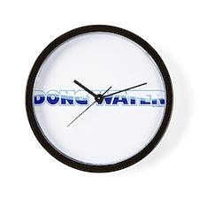 Dong Water Wall Clock