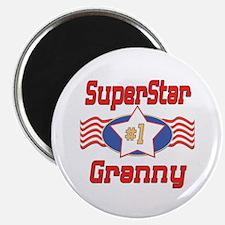 """Superstar Granny 2.25"""" Magnet (10 pack)"""