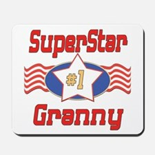 Superstar Granny Mousepad