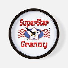 Superstar Granny Wall Clock