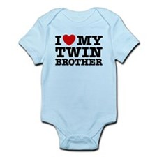 I Love My Twin Brother Infant Bodysuit