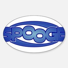 Spooge Oval Decal