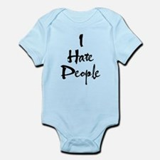 Funny Hate you Infant Bodysuit