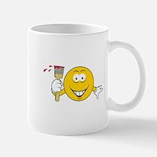 Painter Smiley Face Mug