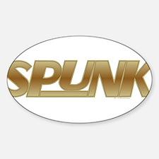Spunk Oval Decal