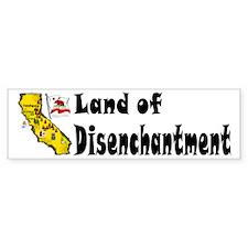 CA-Disenchantment! Bumper Bumper Sticker