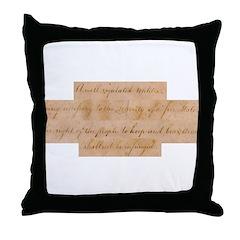 Infringement-4 Throw Pillow