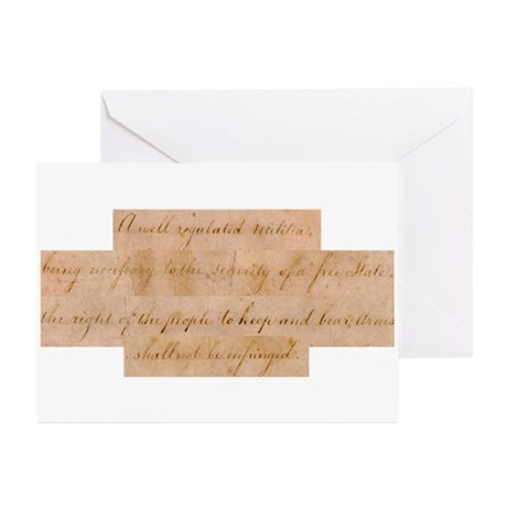 Infringement-4 Greeting Cards (Pk of 20)