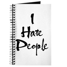 Cool Hate you Journal