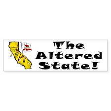 CA-Altered! Bumper Bumper Sticker