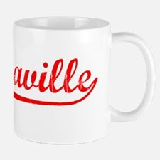 Vintage Brazzaville (Red) Mug