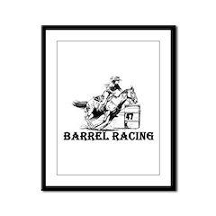 Barrels Framed Panel Print