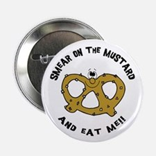 """Smear On The Mustard 2.25"""" Button"""