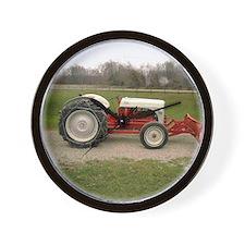 Cute Antique tractor Wall Clock
