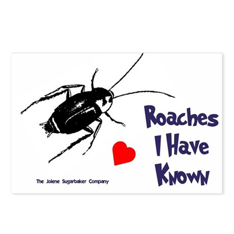 Roaches I Have Known Postcards (Package of 8)
