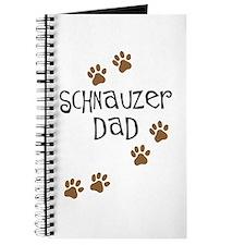 Paw Prints Schnauzer Dad Journal