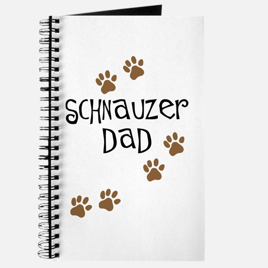 Paw Prints Schnauzer Dad Journal