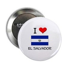"I Love El Salvador 2.25"" Button"