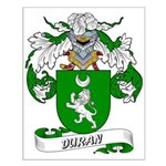Duran Family Crest Small Poster