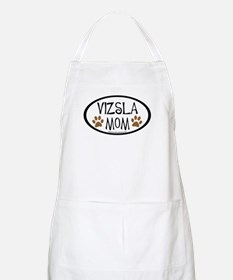 Vizsla Mom Oval BBQ Apron