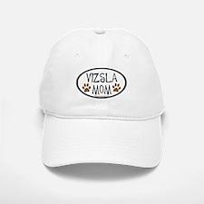 Vizsla Mom Oval Baseball Baseball Cap