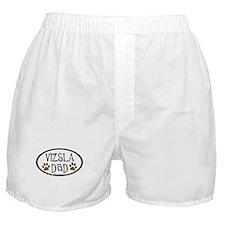 Vizsla Dad Oval Boxer Shorts