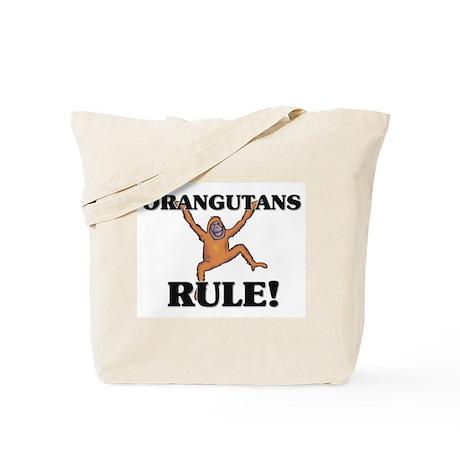 Orangutans Rule! Tote Bag