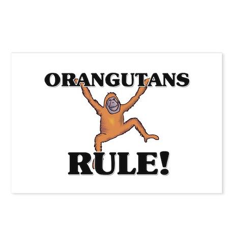 Orangutans Rule! Postcards (Package of 8)